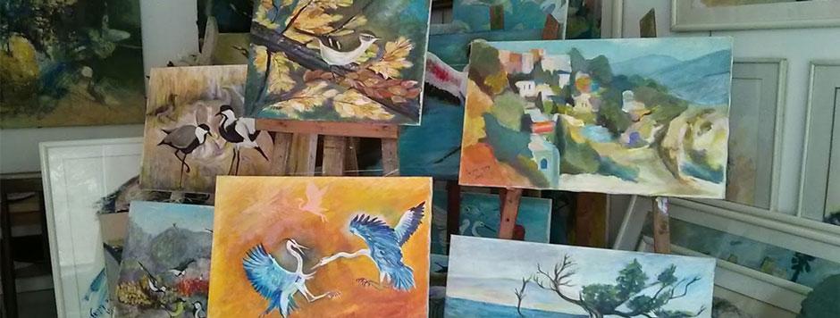 עדנה קרניאל-מבחר ציורים
